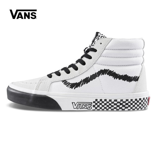 Original New Arrival Vans Men's & Women's Classic SK8-HI Reissue Skateboarding Shoes Sneakers Canvas Comfortable VN0A2XSBU7B