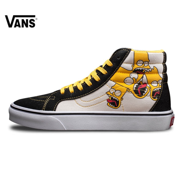 Original Vans Classic Men's  Lover's Skateboarding Shoes with simpson