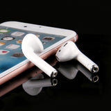 Double Airpods wireless earphones  smart Bluetooth 5.0  touch Earbuds headset  With Charging Box