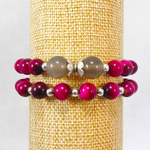 """be CONNECTED"" Bracelet Set 