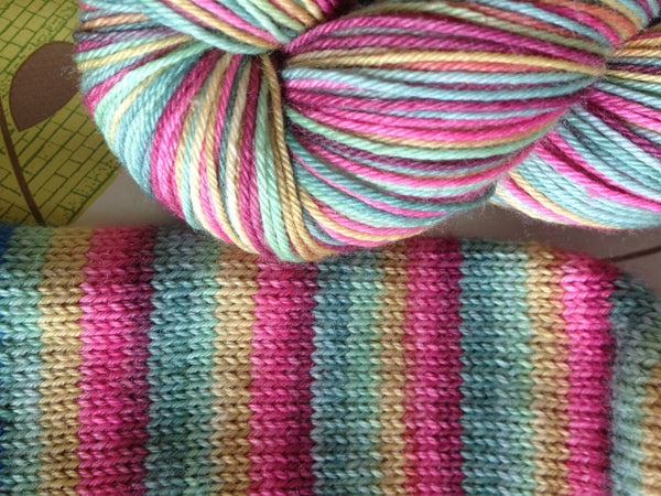 Molly's Rainbow ~ Soft Sock
