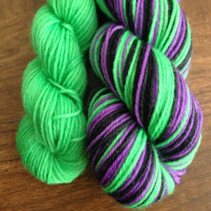 Witches Brew ~ Sparkle Sock
