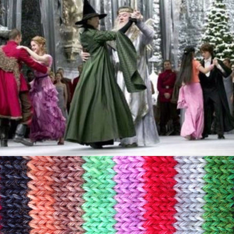 Yule Ball ~ Dyed to Order