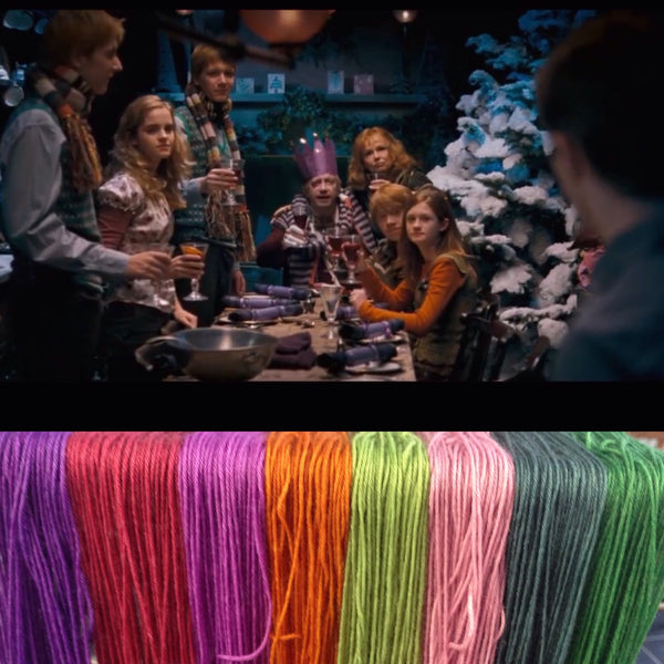Christmas at Grimmauld Place ~ Dyed to Order