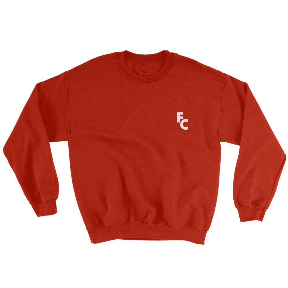 Crewneck Sweatshirt - Cherry Red