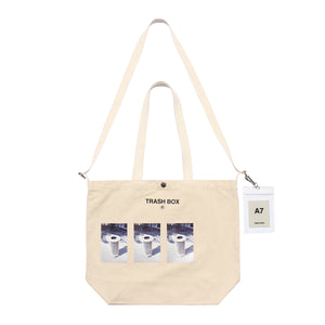 TRASH BOX / M (TOTE BAG)