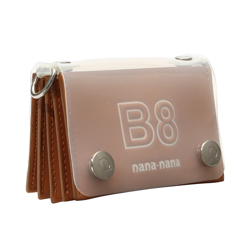 B8 LEATHER x PVC (CARD CASE)
