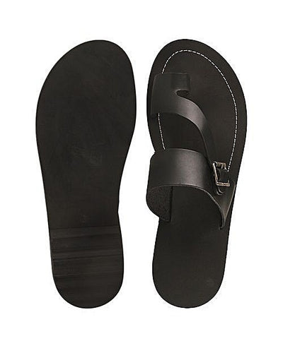 Men's one toe Slippers with buckle detail