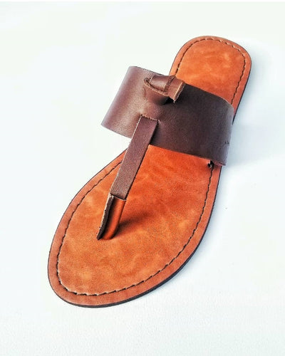 KNOTS GOVERNORS SLIPPERS - BROWN