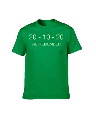 2020 HEROES (GLOW IN THE DARK) - GREEN T SHIRT