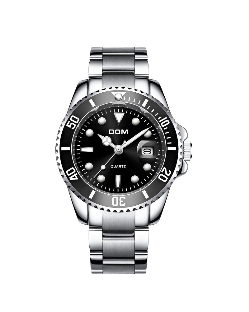DOM SUBMARINER HOMAGE TIME PIECE - BLACK (PRE-ORDER ONLY)