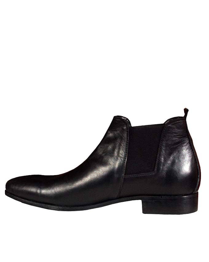 Pure Leather Chelsea Boots