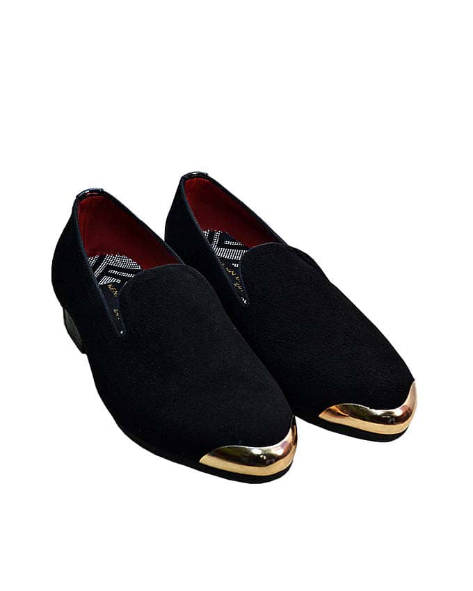 Kenn Banks Exquisite Gold Plated Loafers