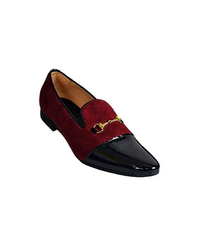 Oxblood Patent Fade Loafers Shoes - Governors