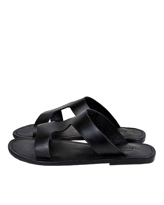 Black Cover Pam Slippers
