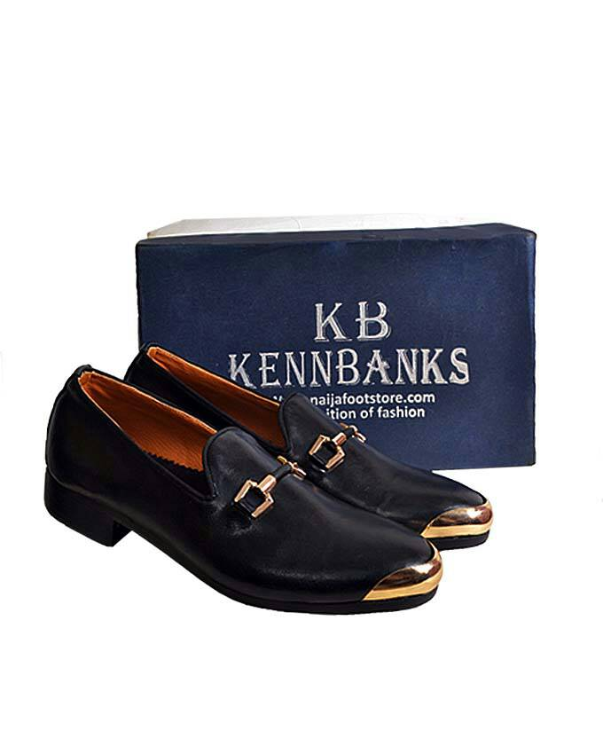 Kenn Banks Leather Gold Plated Churchill