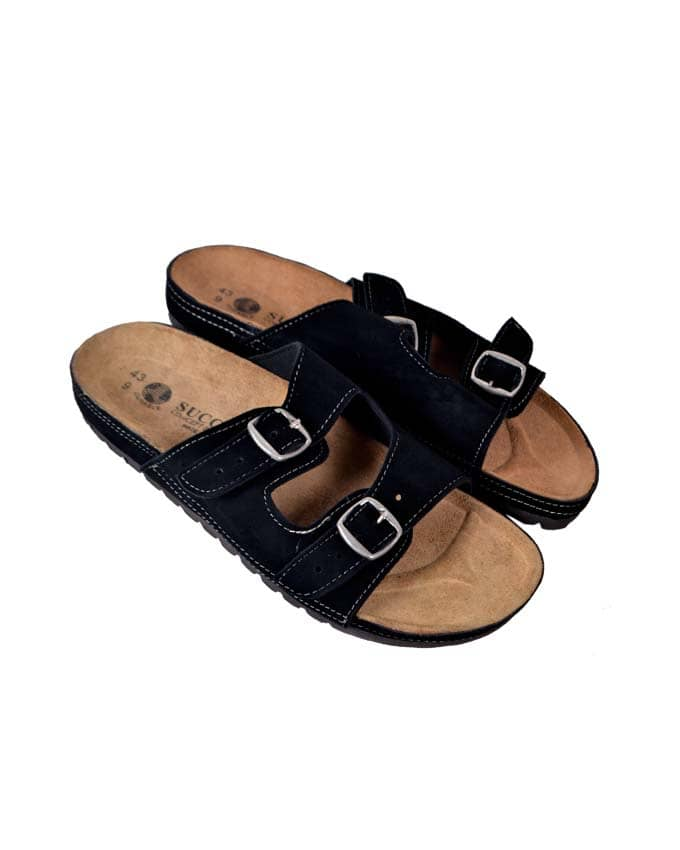 Kenn Banks Suede Slippers