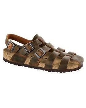 Mens Birkside Gladiator Sandals Brown