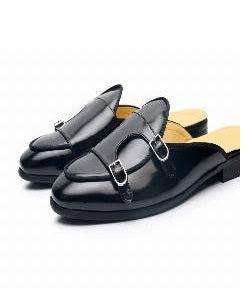 Men's Double Monkstrap Half Shoe