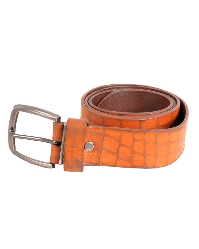 BROWN SKIN LEATHER BELTS