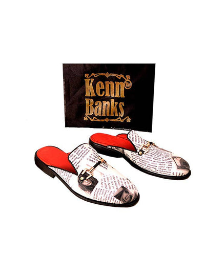 Kenn Banks Design Leather Half Shoe