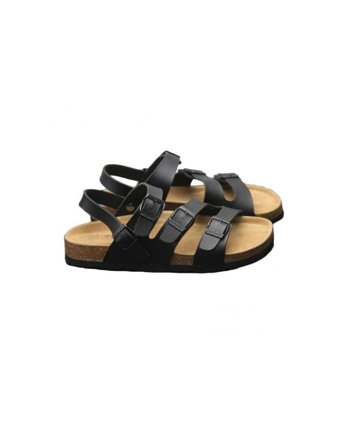 Kenn Banks Triple Buckle Sandals