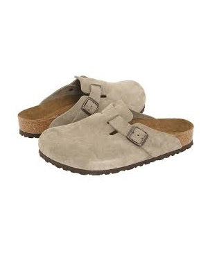 MENS SAHARA SUEDE HALF SHOE SLIPPERS