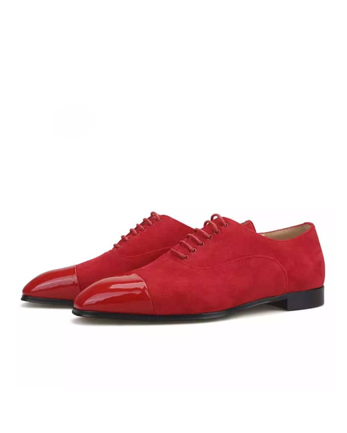 Classic Men Suede Oxford Lace Up