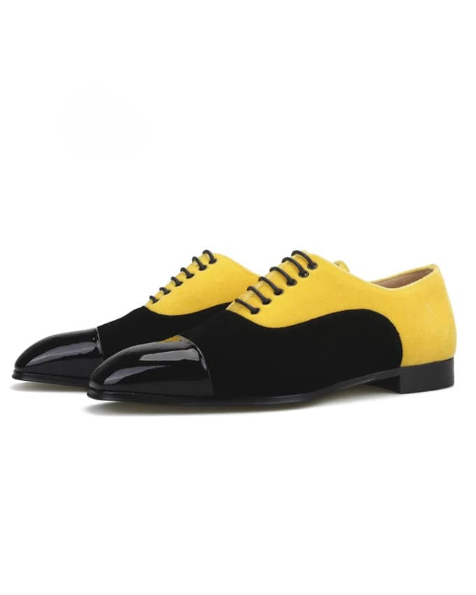 Classic Men Suede Amber Oxford Lace Up
