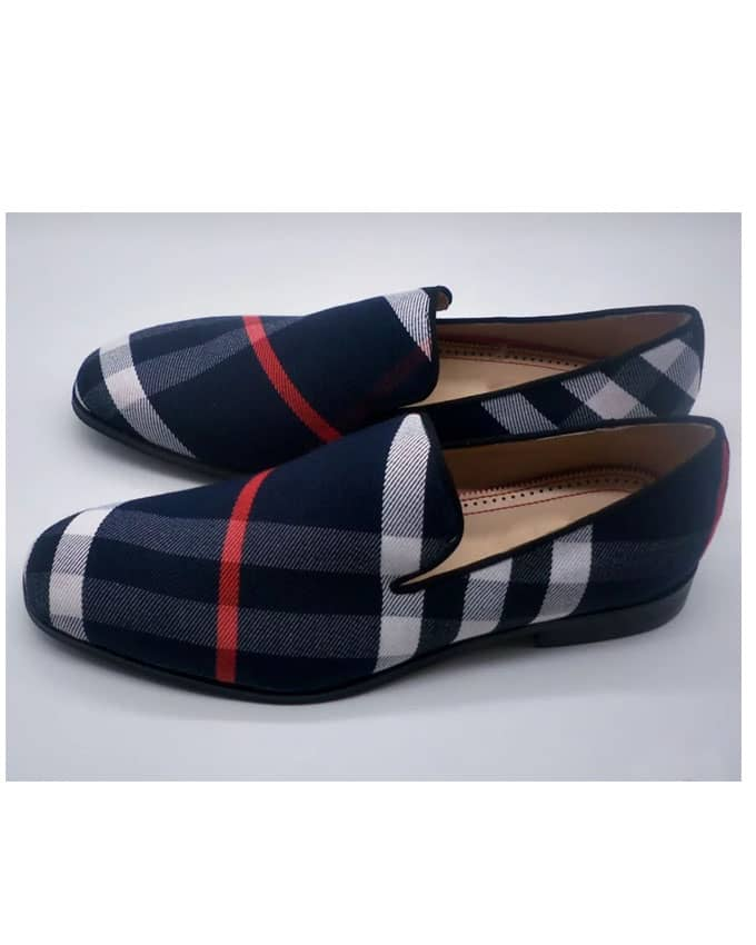 Senior Men Berry Loafers
