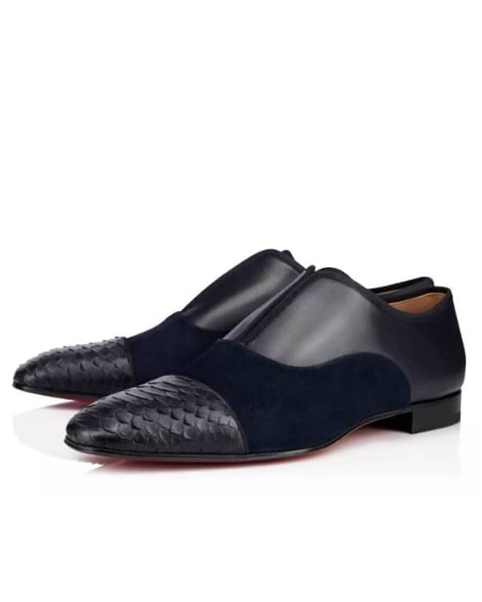 KENNBANKS SENIOR MEN OXFORD LOAFERS - BLACK