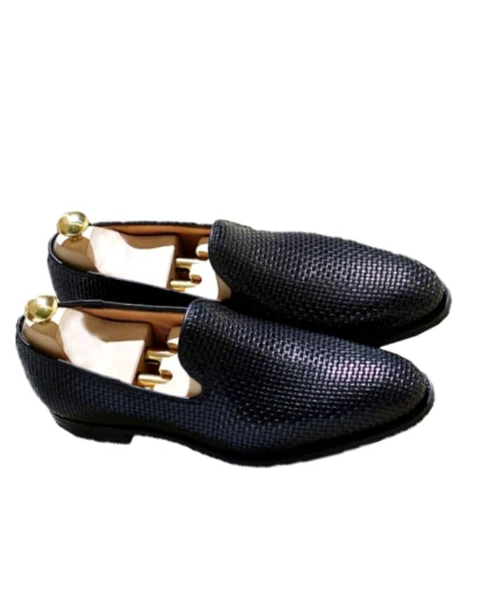 MEN'S BASKET LEATHER LOAFERS
