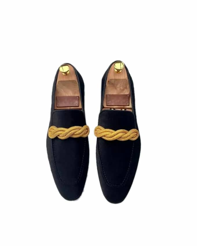 MEN'S WEAVED TASSEL LOAFERS