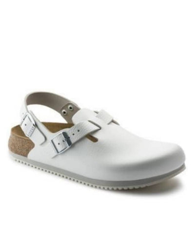 MATURED MEN HALF SHOE SANDALS - White