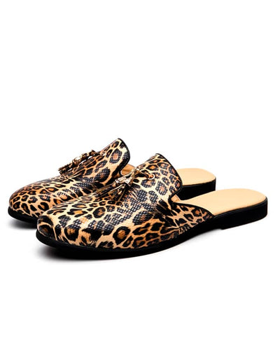 Kenn Banks Mens Exquisite Leopard Skin