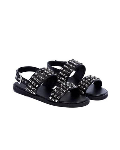KENN BANKS MENS STUDDED SANDAL