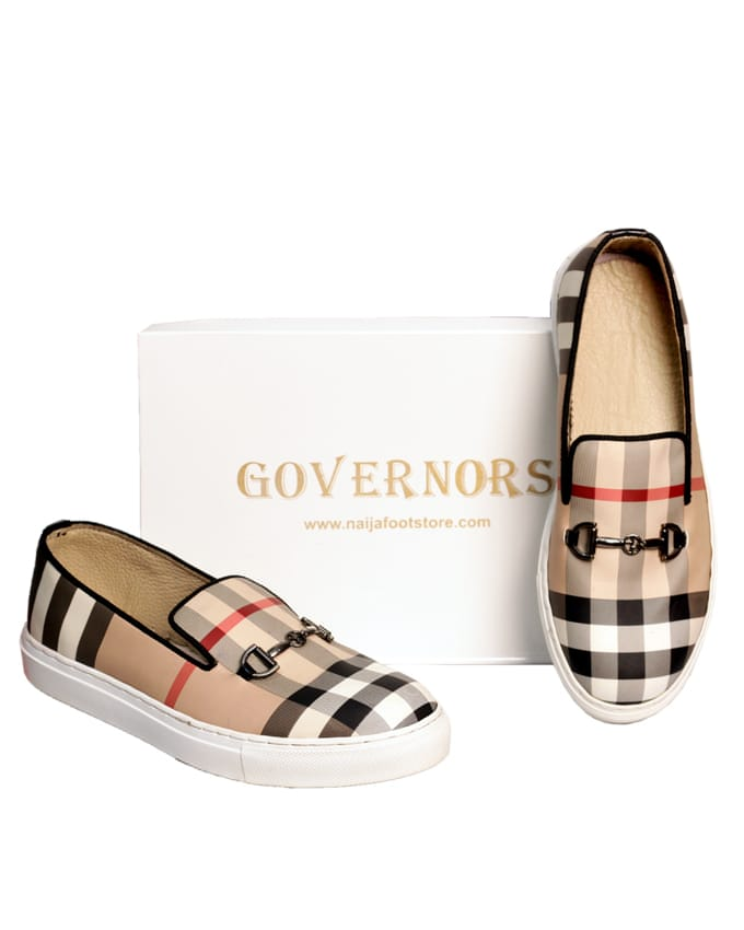 GOVERNORS CHECK PLIMSOLES