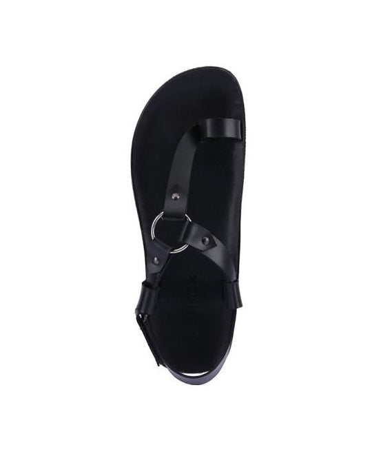 Round ring sandals for men