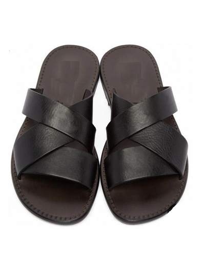 GOVERNORS SWAY SLIPPERS - BLACK
