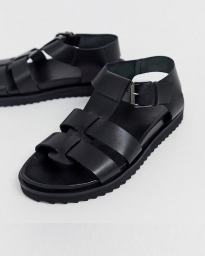 GOVERNORS GLADIATOR SLIDES SANDALS