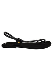 Black Thong Slippers for men