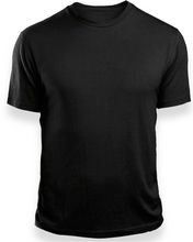 LERE'S QUALITY PLAIN BLACK T-SHIRT