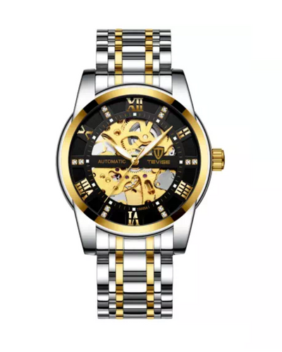 Automatic Gold/Silver Business Watch