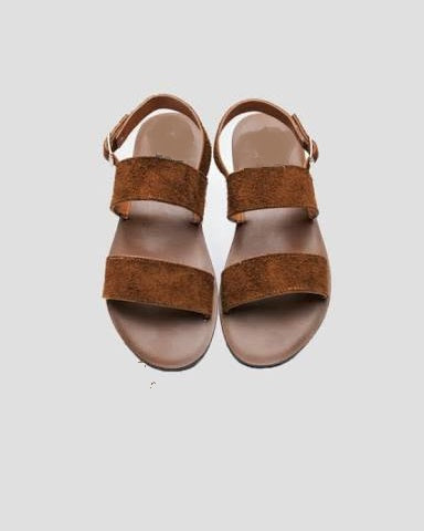 Brown Suede Sandals