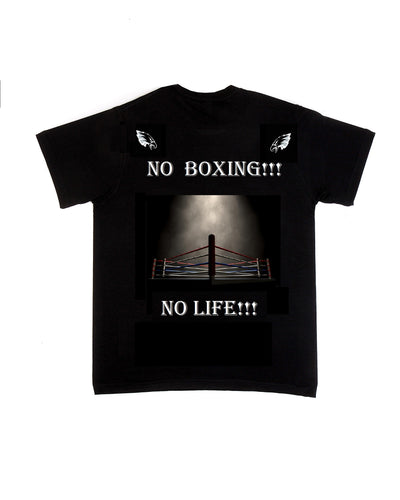 BLACK BOXING HOMAGE T-SHIRT