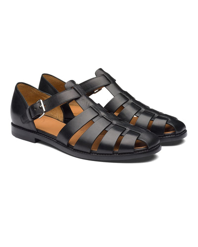 Black Gladiator Reck Sandals