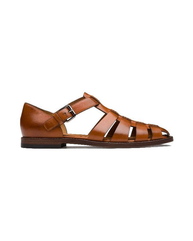 Brown Gladiator Reck Sandals