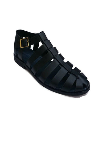 Black Osborne Gladiator Sandals