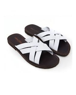 WHITE CROSS SLIPPERS - GOVERNORS