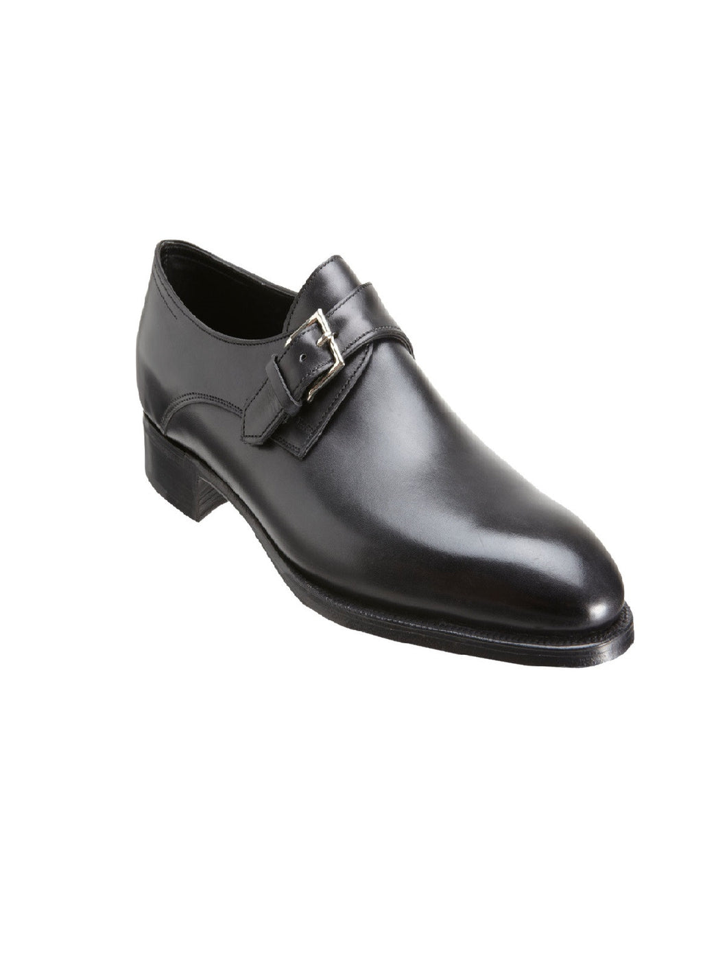 Monkstrap pure leather shoes
